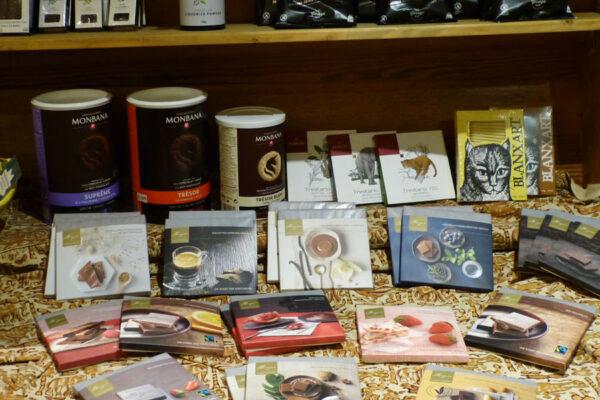 Trinkschokolade kaufen in Sellin auf der Insel Rügen im Kolonial-Stübchen