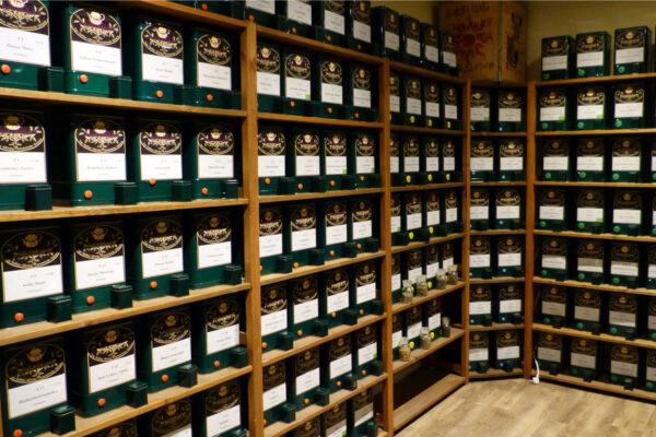 Rügen-Tee kaufen im Kolonial-Stübchen Sellin